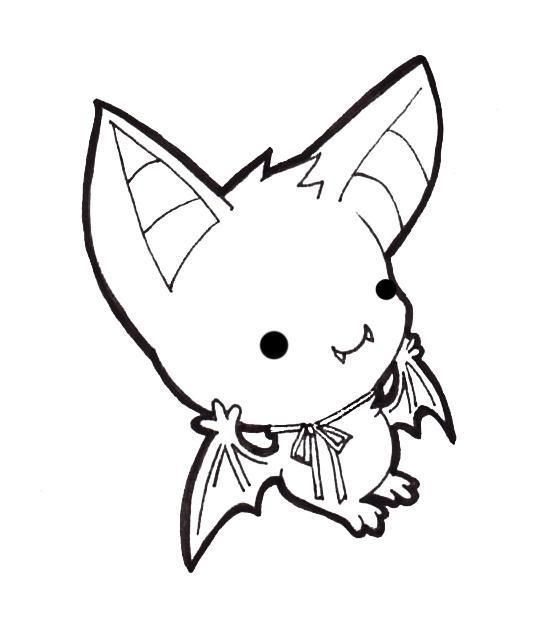 Drawn cute vampire bat 137 about Pinterest cute bat!