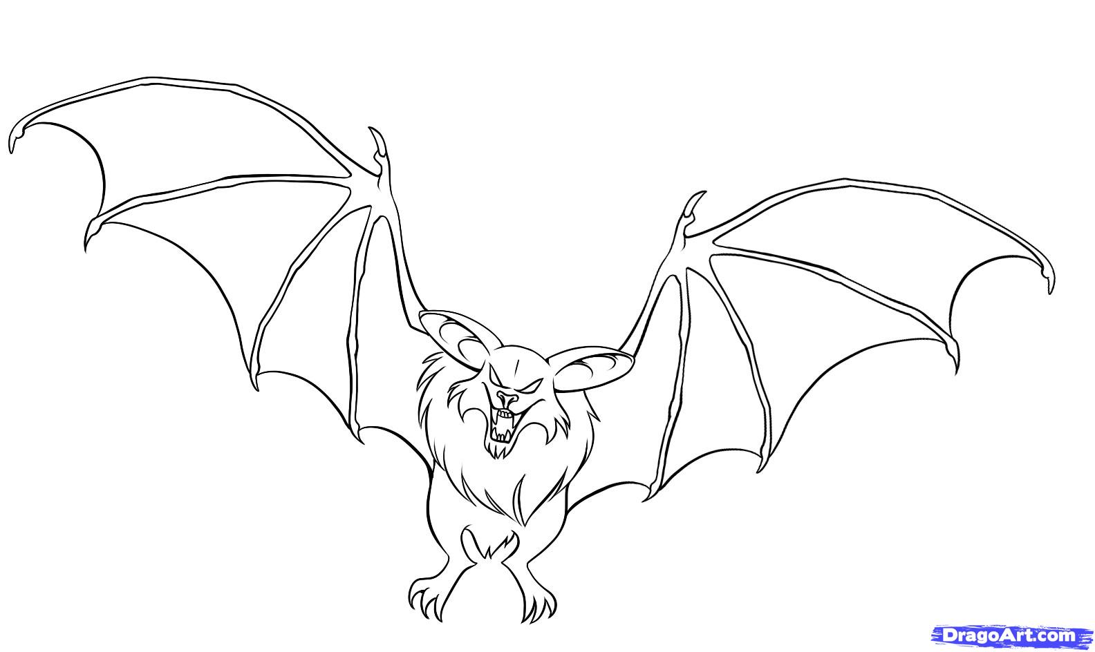 Drawn bat Bat an Anime to Step