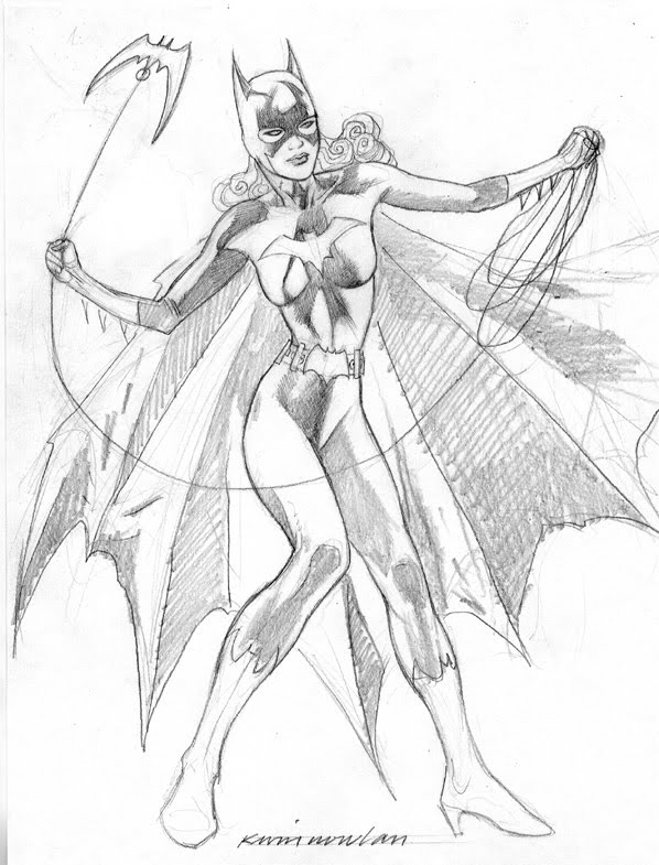 Drawn batgirl This Batgirl up Yet another