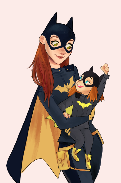Drawn batgirl Babs tarr talent: Tumblr