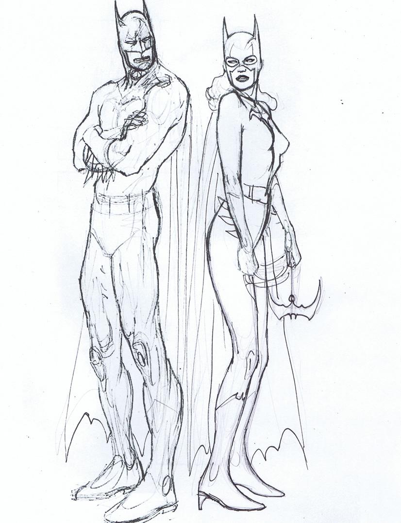 Drawn batgirl Batgirl Kevin & & Nowlan: