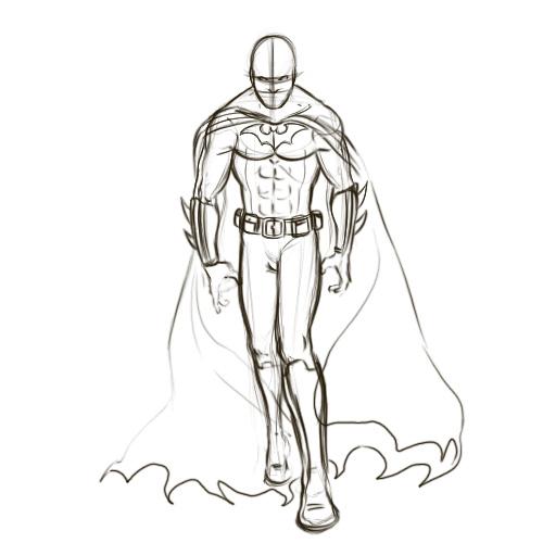 Drawn batman Batman Draw Drawing Batman's 5