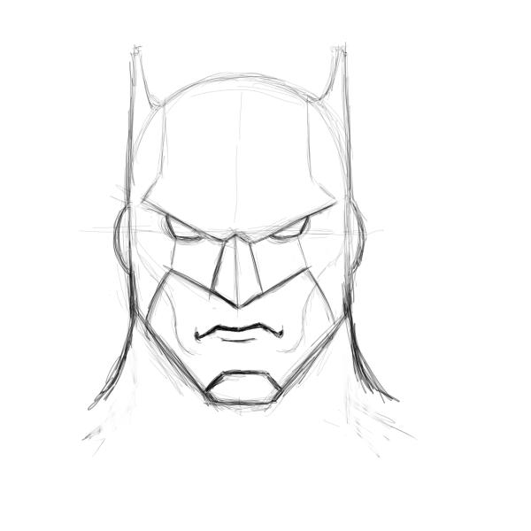 Drawn batman And one the The changed