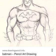 Drawn batman WikiHow Batman year ago 1