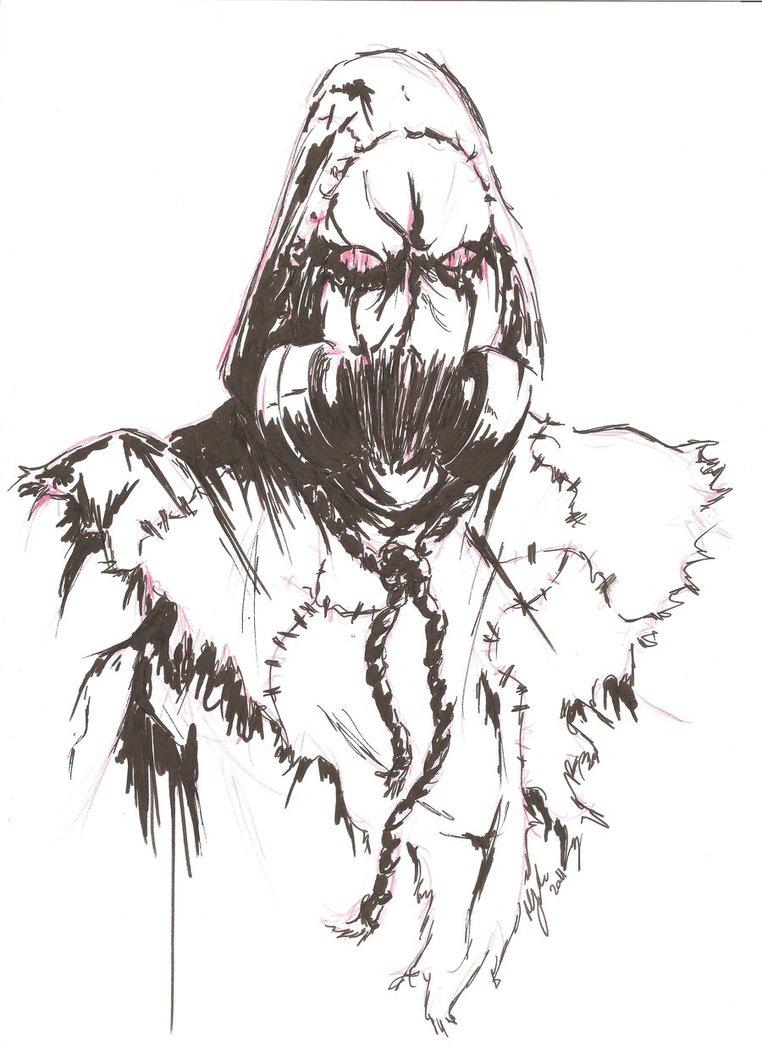 Drawn batman basic MikimusPrime Scarecrow Scarecrow DeviantArt MikimusPrime