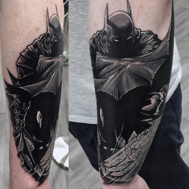 Drawn batman basic Drawn have a black logo