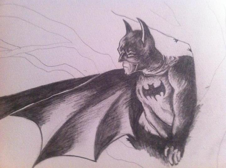 Drawn batman basic Batman drawn by on by