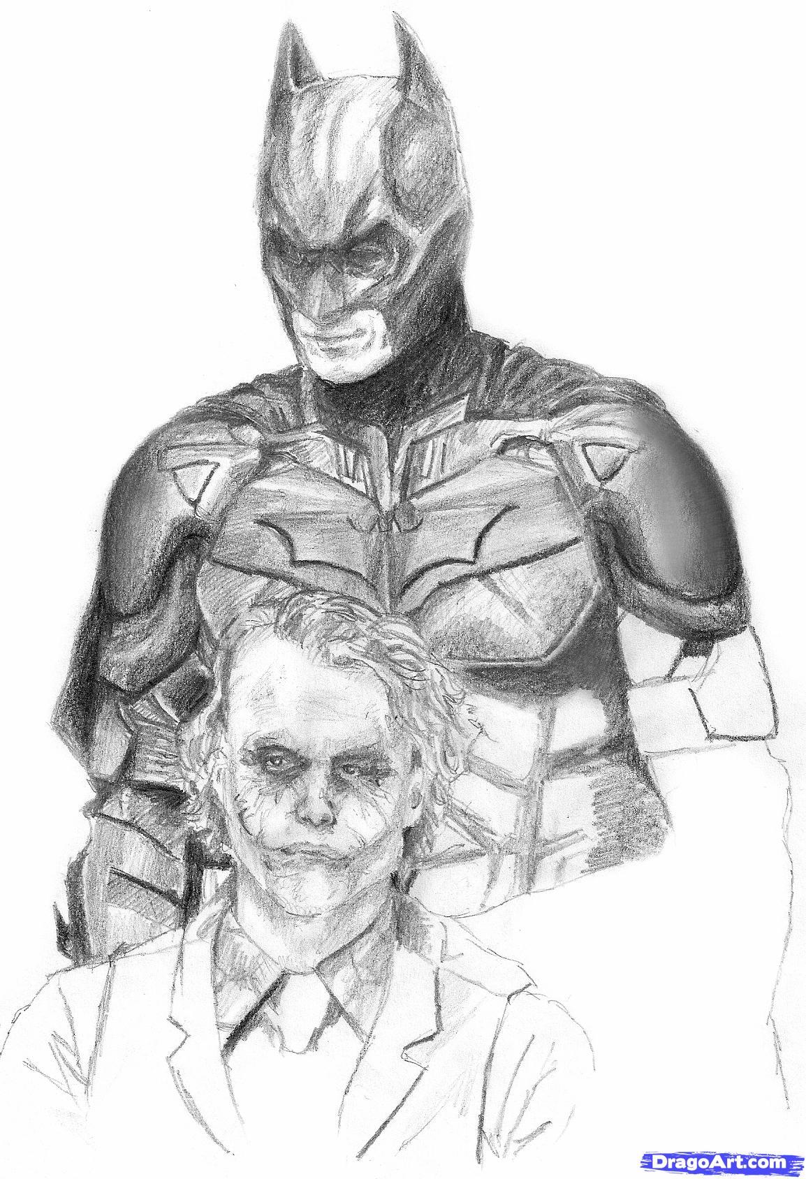 Drawn batman batman dark knight By Step the  to