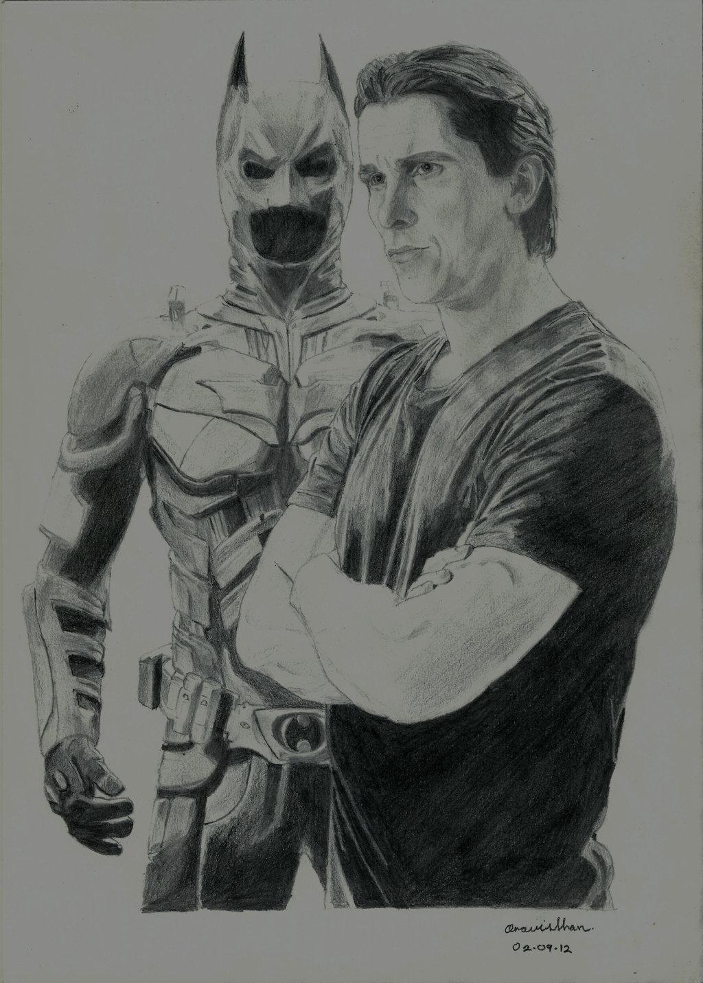 Drawn batman batman dark knight On DeviantArt Dark Batman Batman