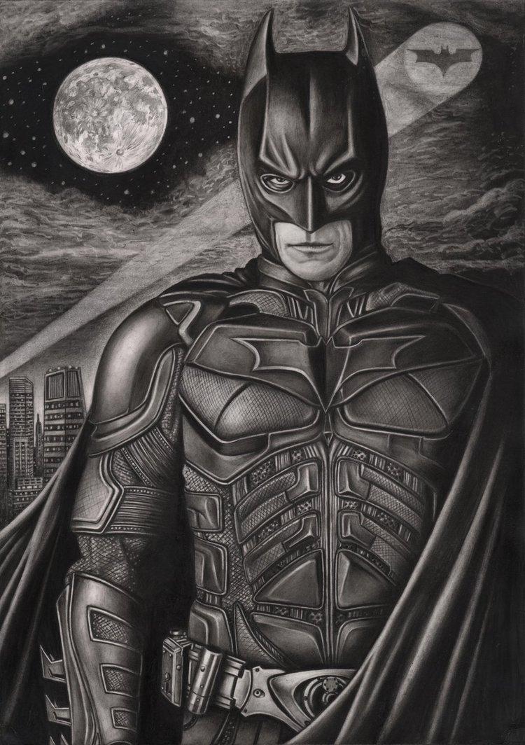 Drawn batman batman dark knight Graphite drawing graphite  Artist