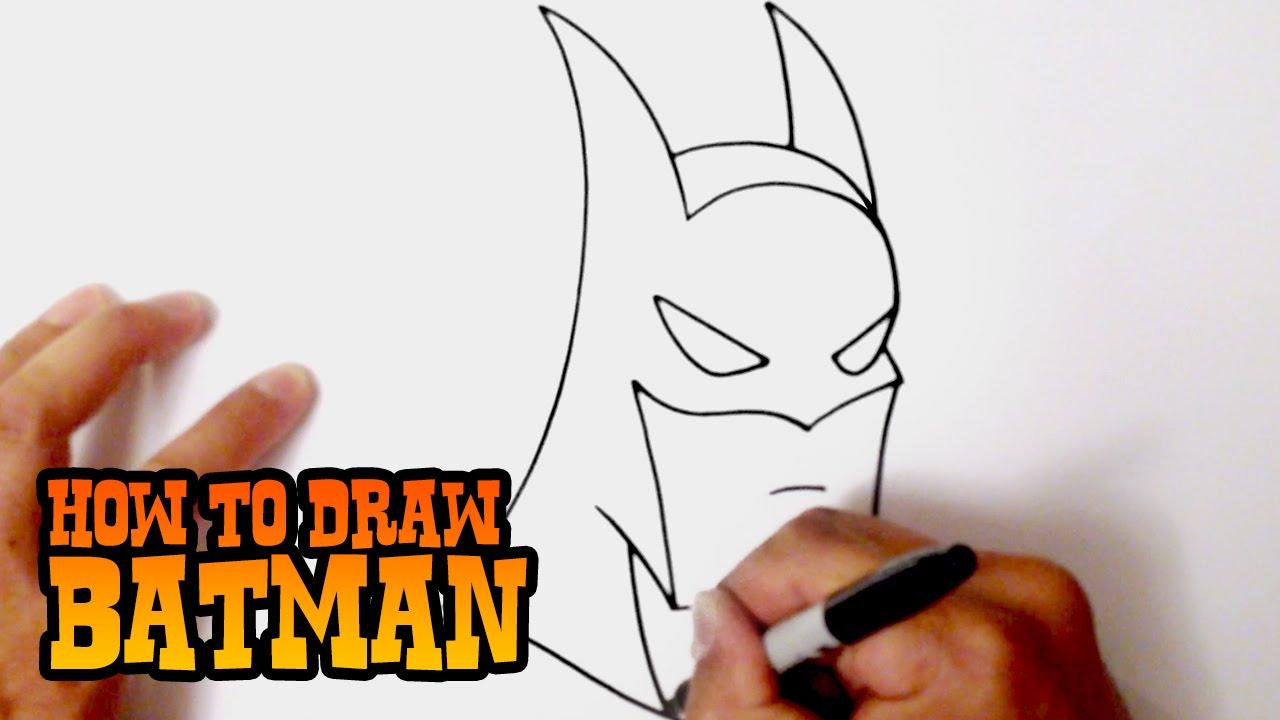 Drawn batman beginner Step YouTube Video Draw Lesson
