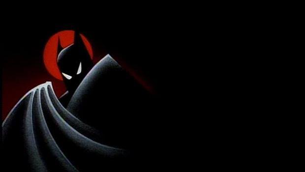 Drawn batman black paper Dorkadia Series Animated Batman Television