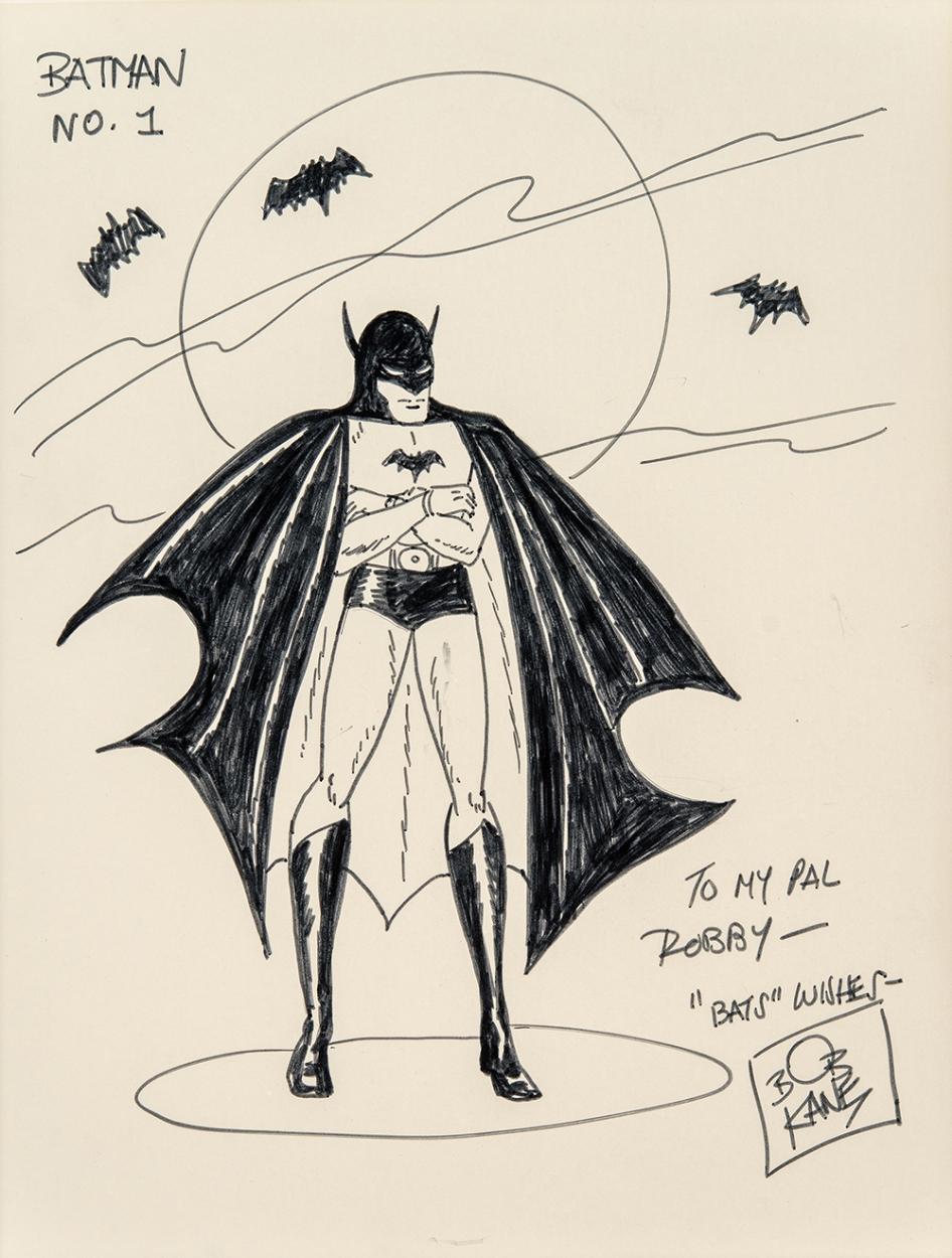 Drawn batman bob kane Artwork #27 Batman Kane Bob
