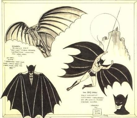 Drawn batman bob kane Batman Design  Batman Bob