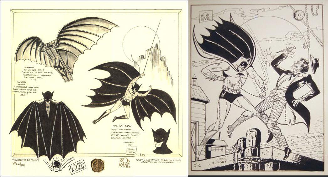 Drawn batman bob kane The Batman batman batman Pinterest
