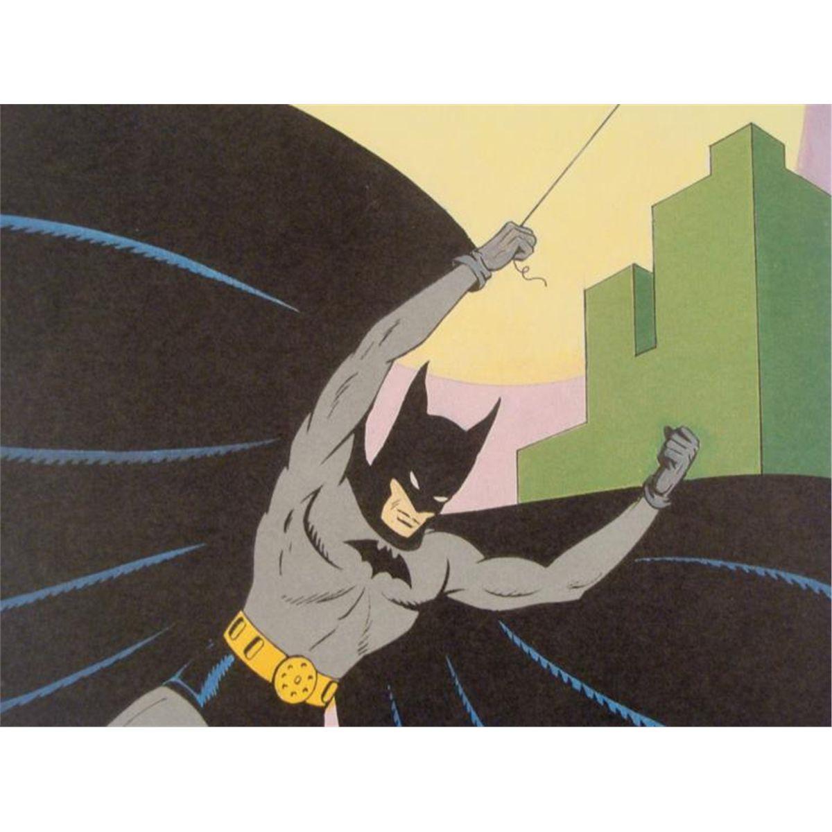 Drawn batman bob kane Kane Golden 50th Bob Batman