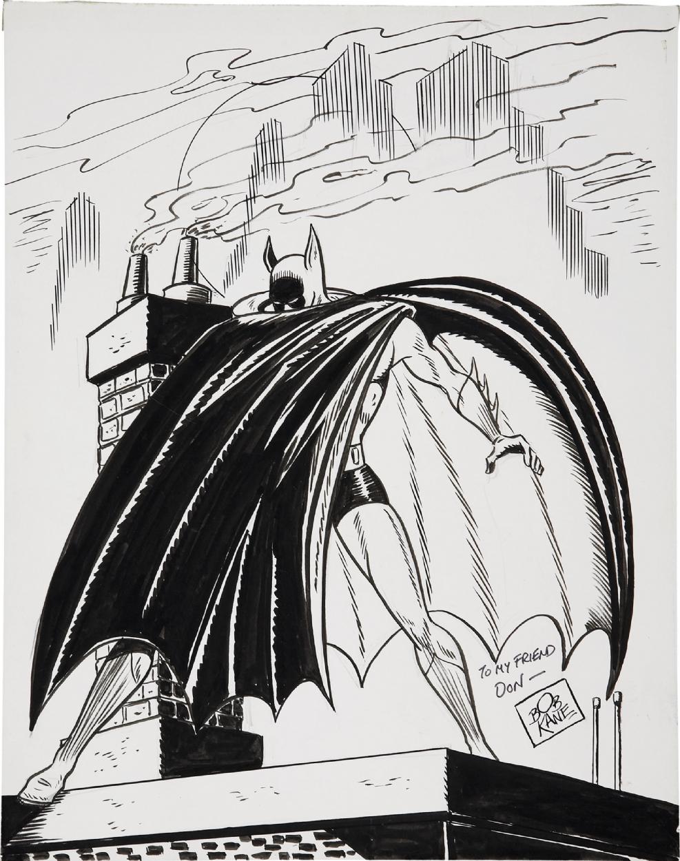 Drawn batman bob kane Kane Batman  kane Bob