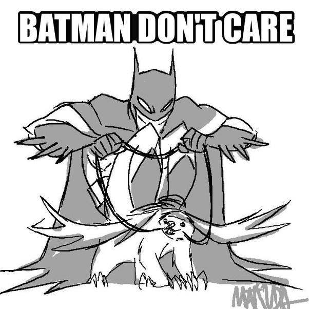 Drawn batman cartoon / Jeff most epic drawings