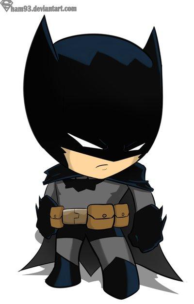 Drawn batman cartoon My ADORABLE chibi by deviantART