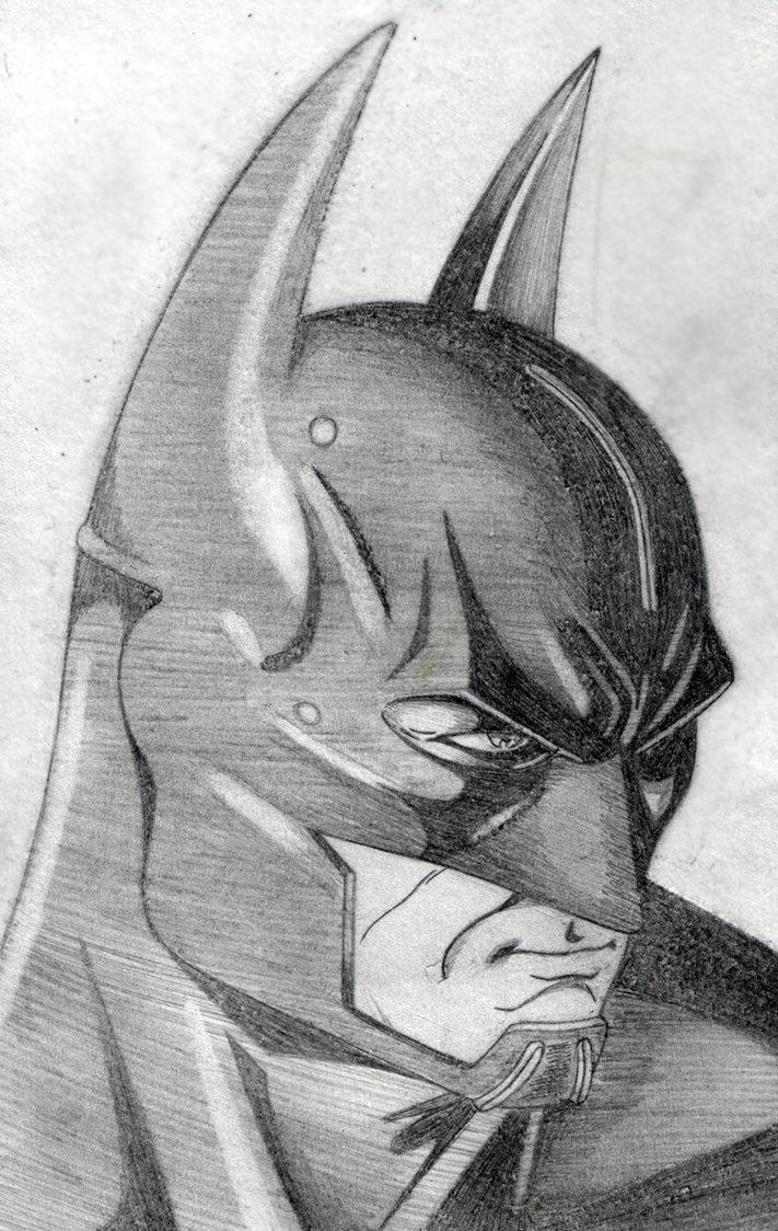 Drawn batman cowl On Cyrano17 by DeviantArt Cyrano17