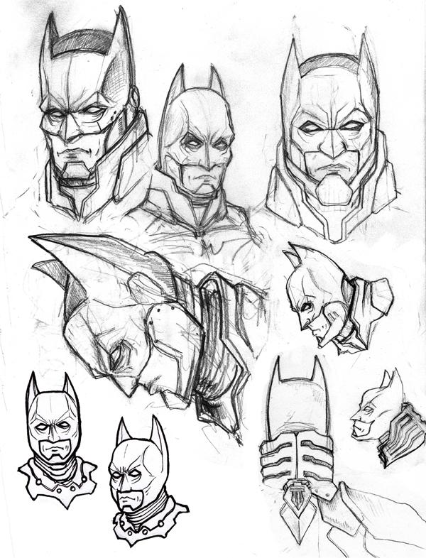 Drawn batman cowl On LandonLott by DeviantArt LandonLott