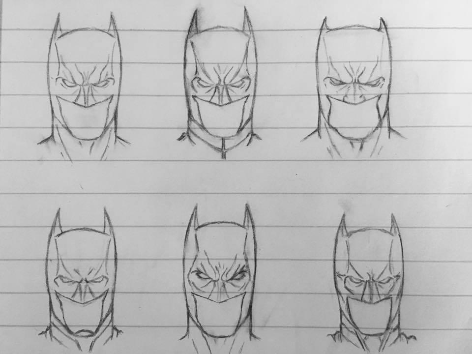 Drawn batman cowl Sketch Spartan by Sketch DeviantArt