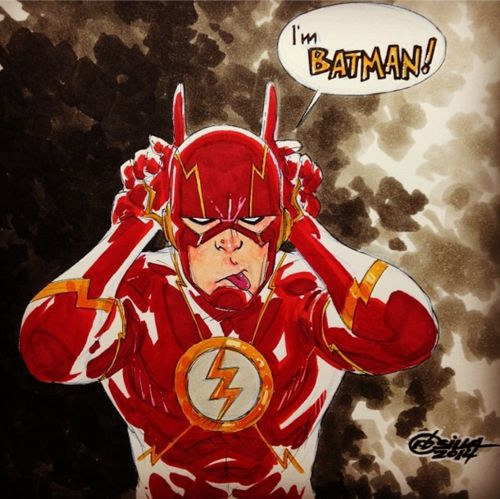 Drawn batman flash Poses  25 images Superhero