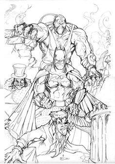 Drawn batman gotham #13
