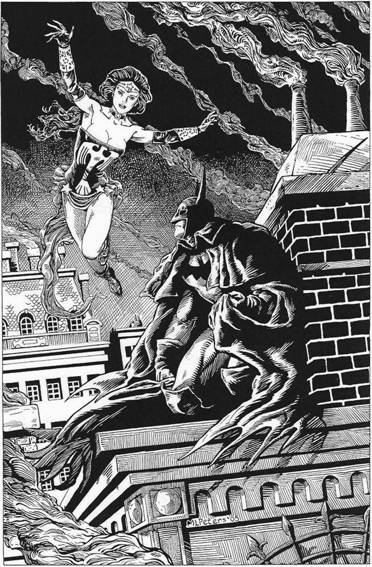 Drawn batman gotham #9