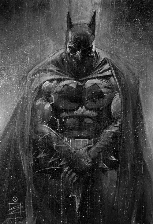 Drawn batman gotham #10