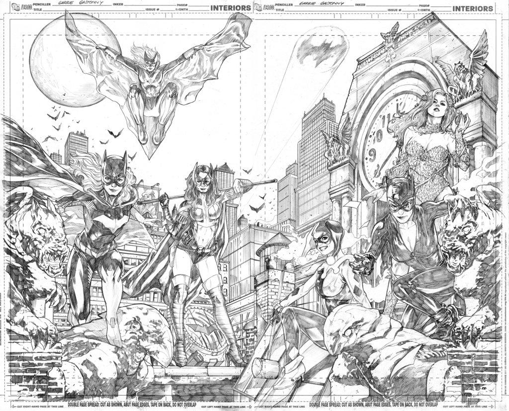 Drawn batman gotham #7