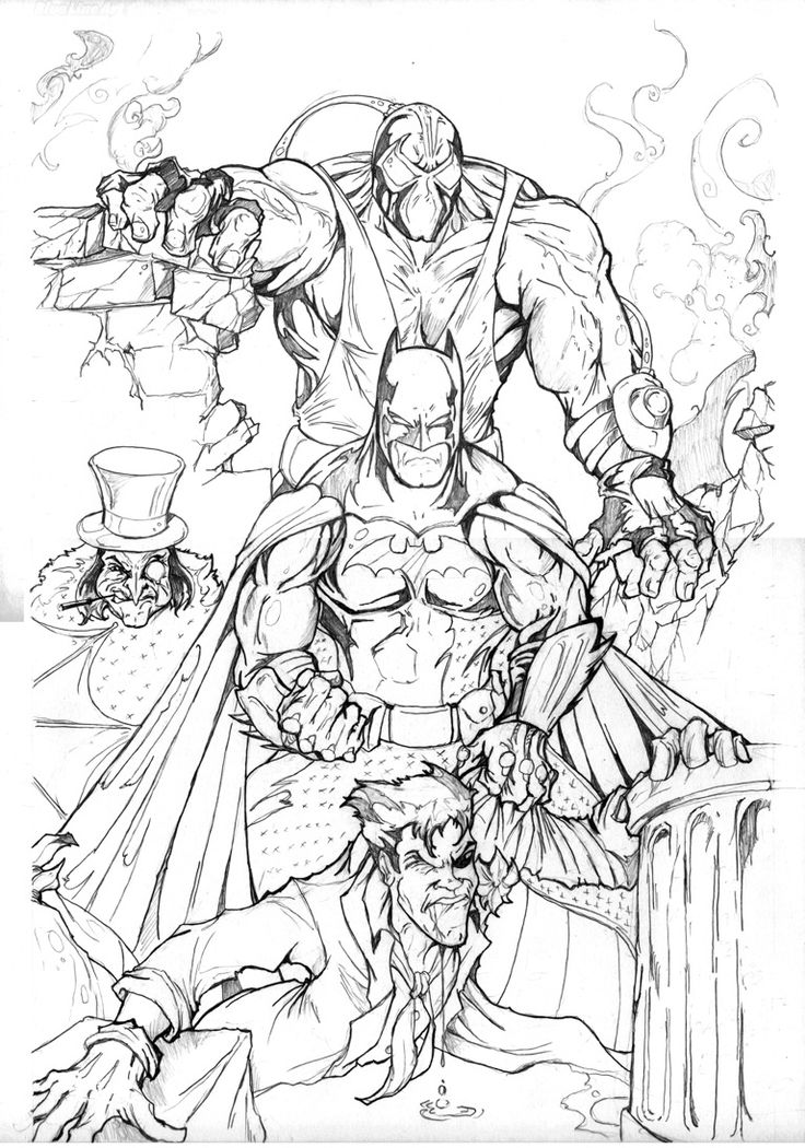 Drawn batman gotham #5