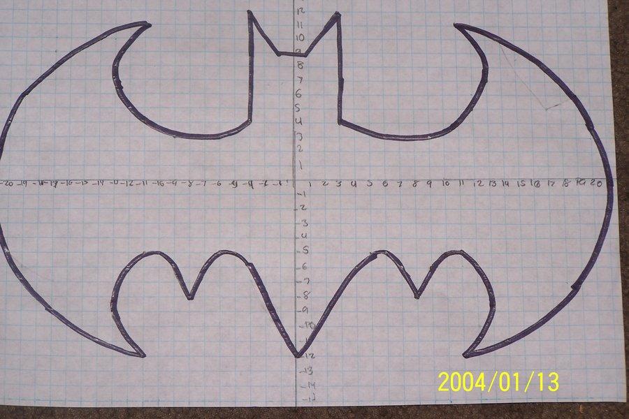 Drawn batman graph Art symbol Paper view Graph