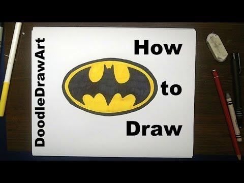 Drawn batman graph ByStep byStep Step Logo Easy!