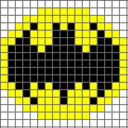 Drawn batman graph (Batman) Bat Crochet Pattern crocheting