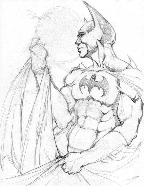 Drawn pice batman This the artist drawing Batman