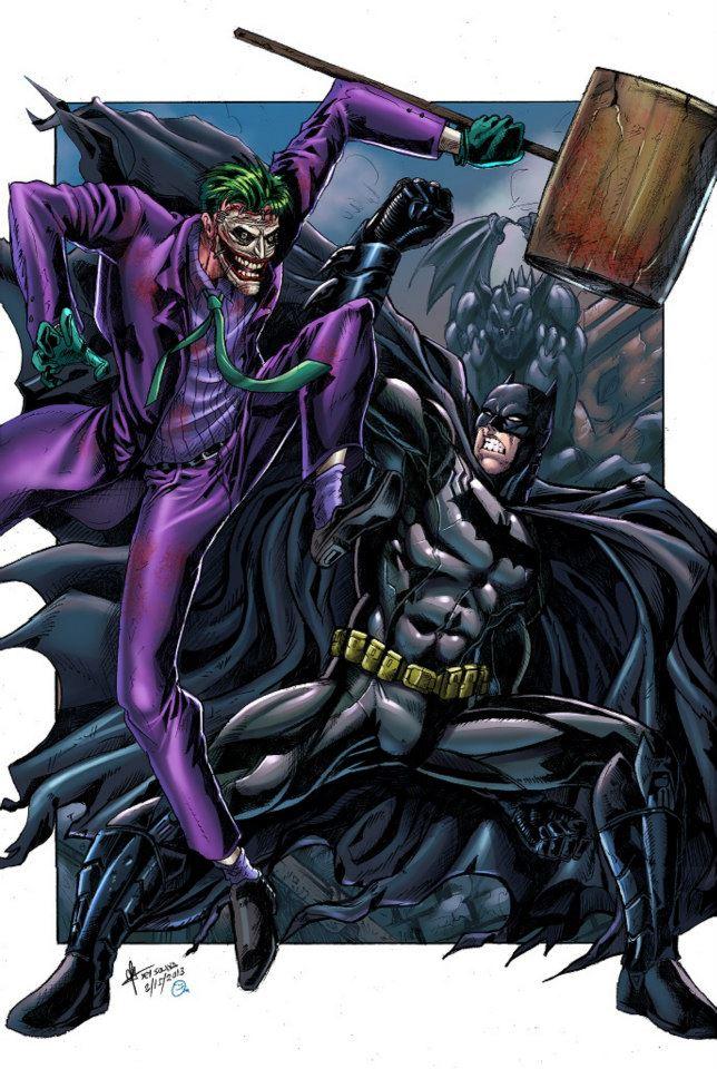 Drawn batman marvel VS jey2dworld jey2dworld Joker Batman