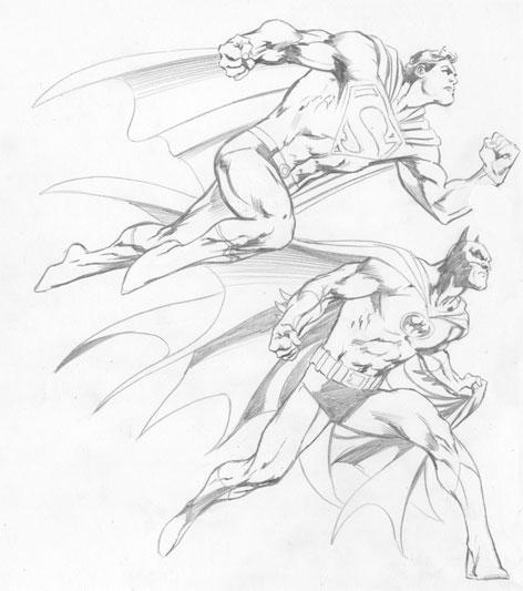 Drawn batman marvel Alan Batman together Davis Alan