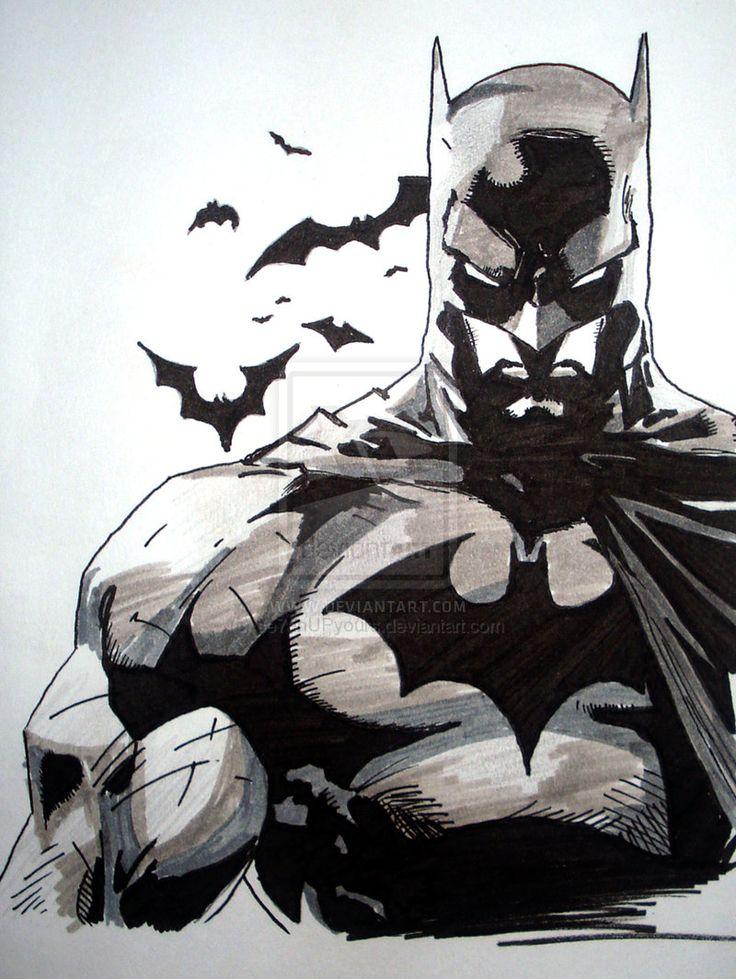 Drawn batman marvel Batman deviantart images Tattoo? best