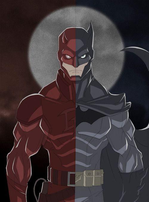 Drawn batman marvel Marvel Shah dc Crossover Batman