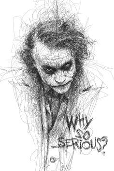 Drawn batman pencil #15