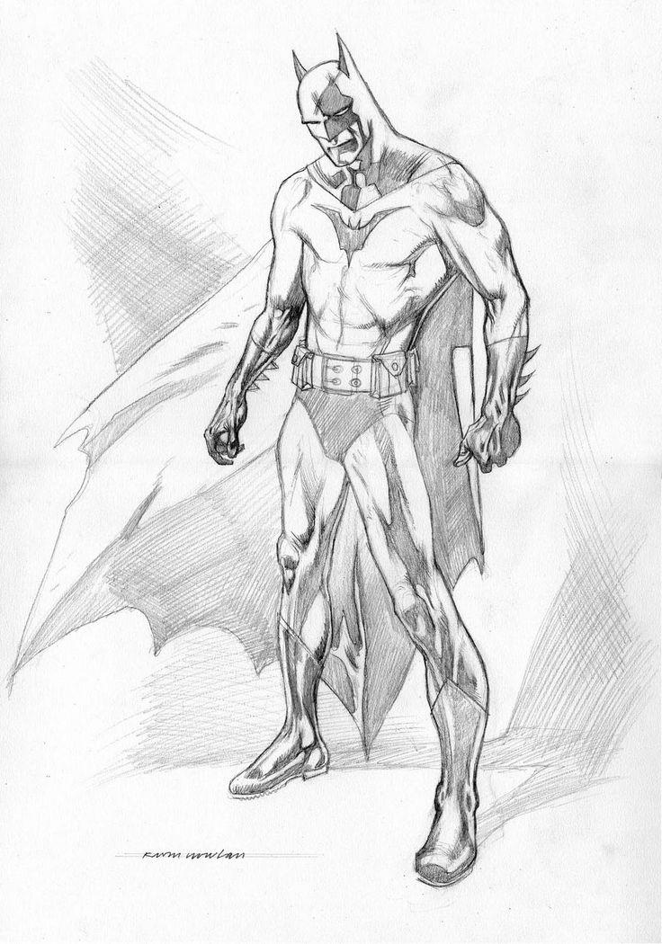 Drawn batman pencil #9