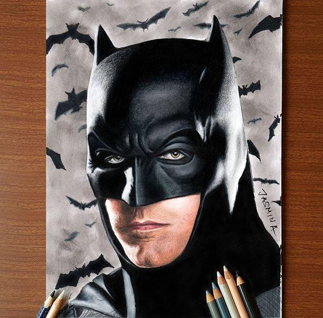 Drawn batman pencil #6