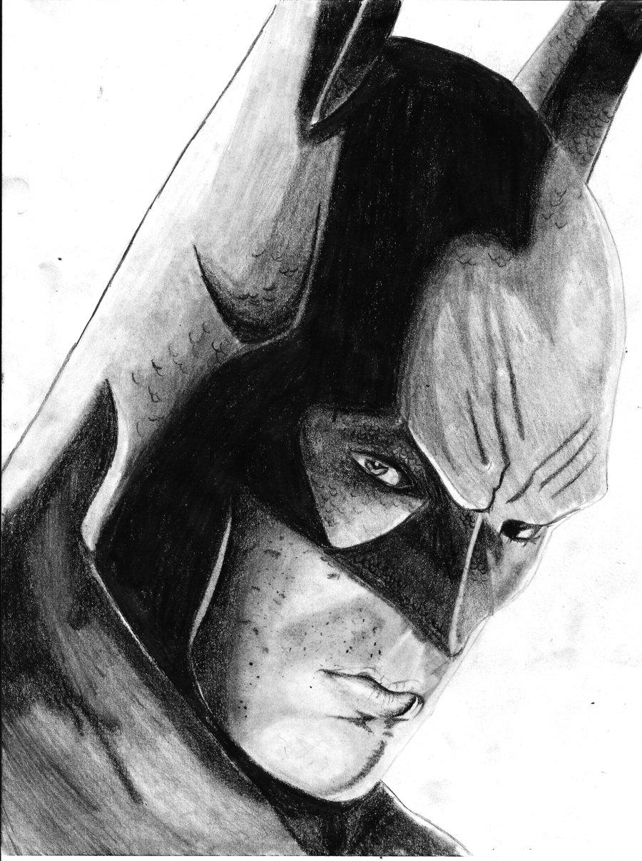 Drawn batman pencil #11