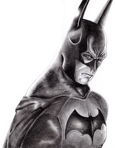 Drawn batman pencil #12