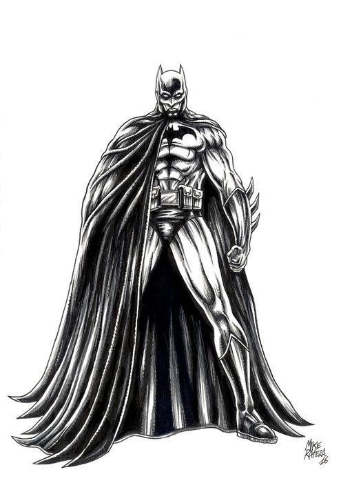 Drawn batman pencil #14