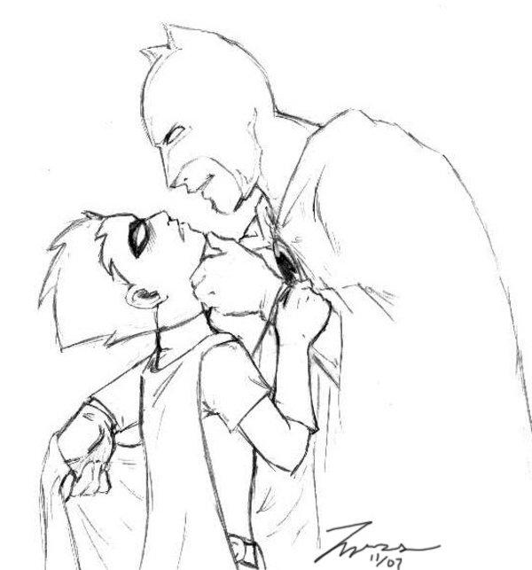 Drawn batman robin #9