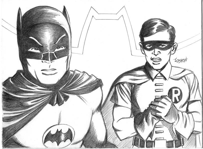 Drawn batman robin #14