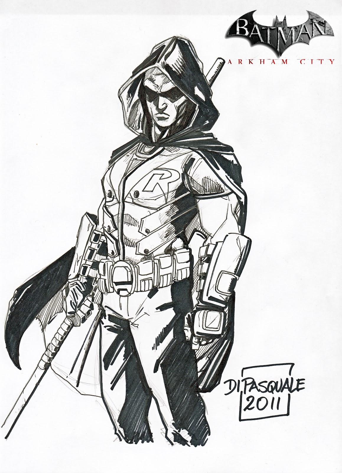 Drawn batman robin #10