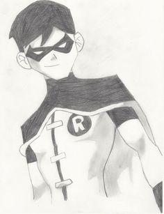 Drawn batman robin #12